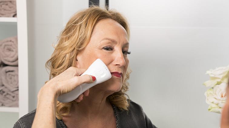 Beauty huid analyse in de schoonheidsspecialiste praktijk en beautysalon Beauty Betty Delft