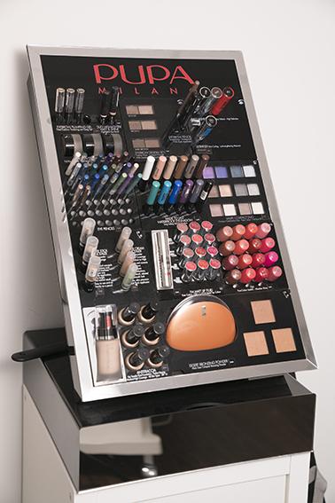 Make up aanbod Pupa bij schoonheidsspecialiste beautysalon Beauty Betty Delft