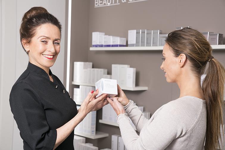 Beauty advies van schoonheidsspecialiste beautysalon Beauty Betty Delft